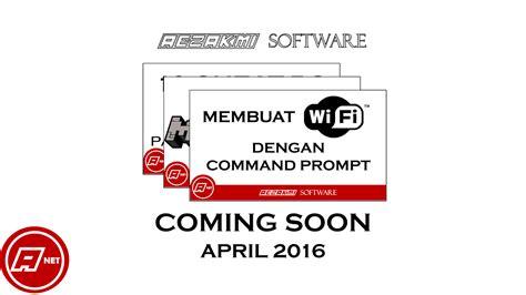 membuat game dengan cmd coming soon april 2016 membuat wifi dengan cmd dan lain