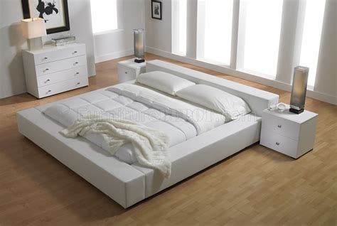 white platform beds elegant white leatherette upholstered platform bed