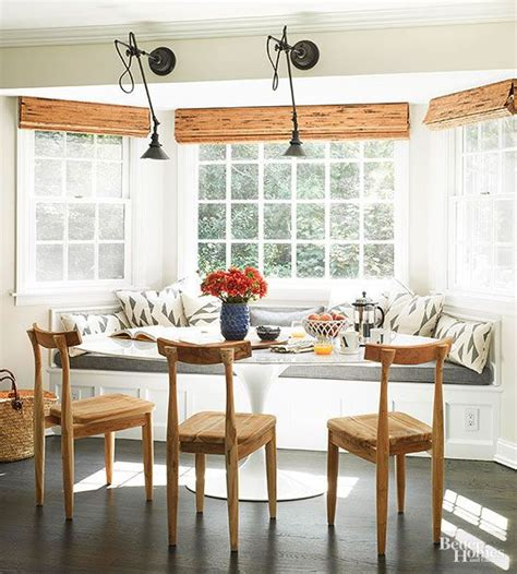 cool ways  customize  banquette window seat