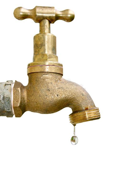 Kran Outdoor 3 8 tap stock photo image of garden faucet drip