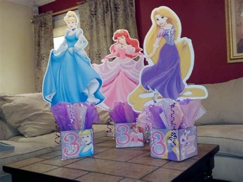 princess birthday centerpieces tangled cinderella and www playpatterns net