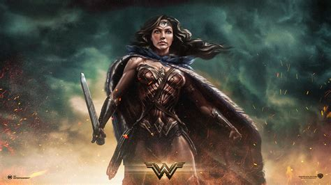 wallpaper laptop movie wonder woman full hd wallpaper and background image