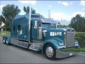 kenworth w900l custom aero i sleeper custom semi truck