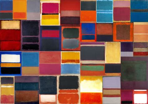 rothko the color field 145215659x mark rothko collection viii color field original art