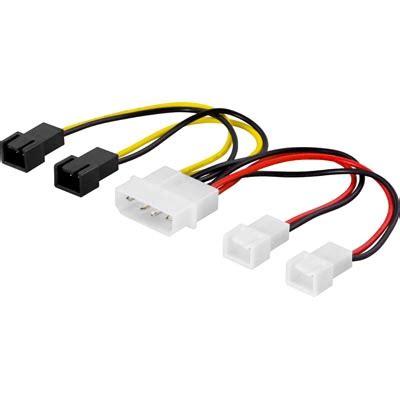 molex to fan adapter deltaco fan power 4 pin molex m to 2x3 pin 12v and 2x3