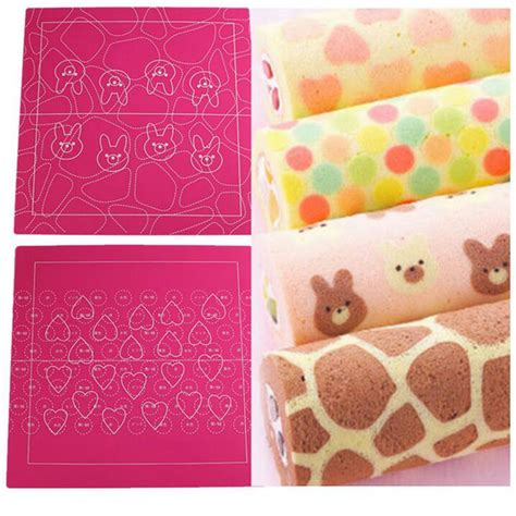 Diy Roll Cake Mat silicone cake mat chocolate transfer sheet 1pcs 30 30cm diy nonstick pad dough pastry bake roll