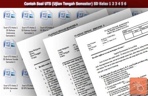 Ripal Sd Kelas 4 5 6 contoh soal uts ujian tengah semester sd kelas 1 2 3 4 5