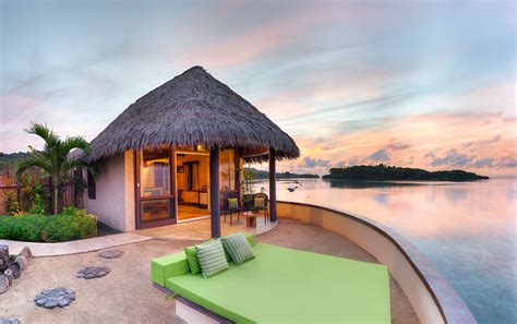 all inclusive resorts with bungalows staying in an overwater bungalow in fiji koro sun