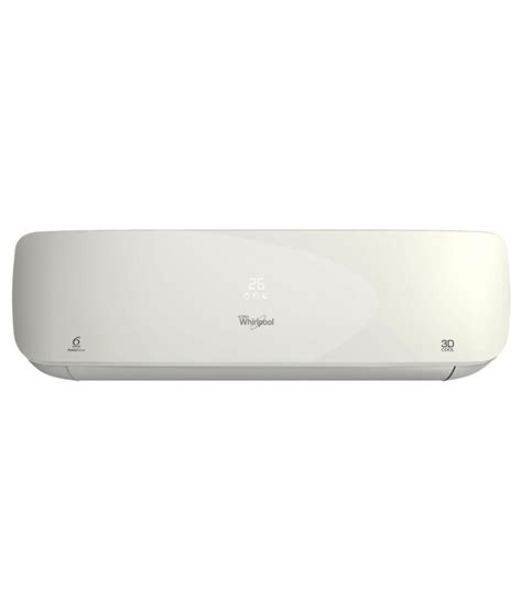 whirlpool 1 ton window ac price whirlpool 1 ton 3 star 3d cool hd split air conditioner
