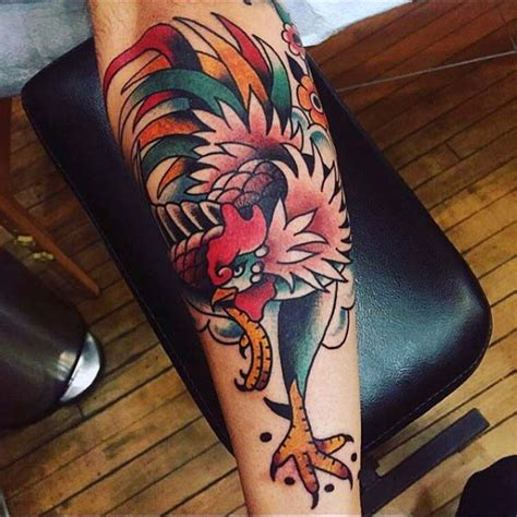 rooster tattoo designs men 100 rooster designs for of ink