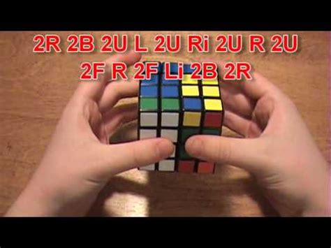 4x4 rubik s cube parity tutorial how to solve the 4x4 rubik s cube part 2 youtube