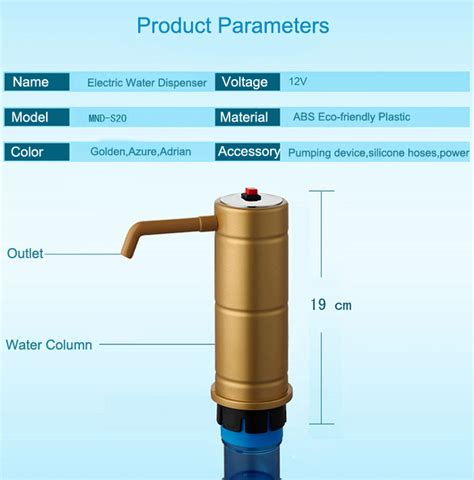 Pompa Galon Baterai Battery Water Murah jual rechargable electric water dispenser pompa galon