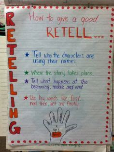 retell new year story 1000 images about anchor charts on anchor