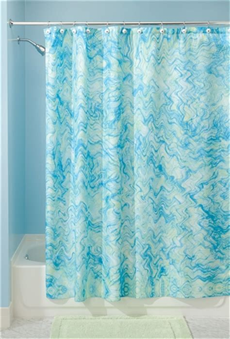 Blue And Green Shower Curtains Watercolor Shower Curtain Blue And Green College Supplies Shower Curtain College Items Cheap