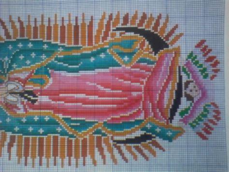 imagenes de virgen de guadalupe en punto cruz virgen de guadalupe en punto de cruz imagui