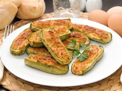 cucina zucchine ripiene zucchine ripiene vegetariane ricetta di fidelity cucina