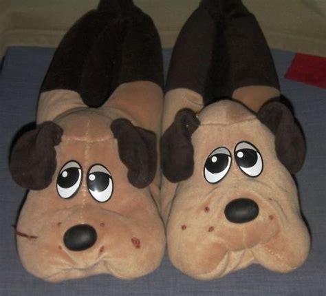 pound puppies plush pound puppies plush bedroom slippers bedroom slipper
