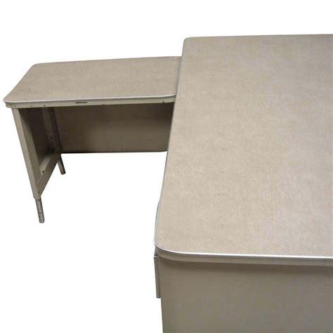 metal desk l metal l shaped desk hon metro classic 66 l shaped metal