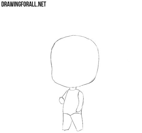how to draw a doodle step by step how to draw a chibi boy drawingforall net