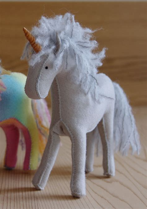 felt pattern unicorn felt horse or unicorn in your choice of colour 55 00