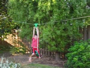 Zip Lines For Backyard Bob S Grand Adventures Backyard Fort Zip Line