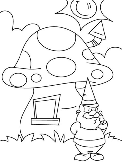 mushroom house coloring pages mushroom house coloring page kids coloring page gallery
