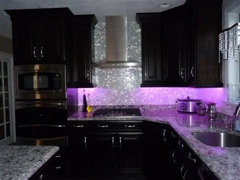 purple kitchen backsplash 50 inspiring purple theme colour for kitchen decohoms
