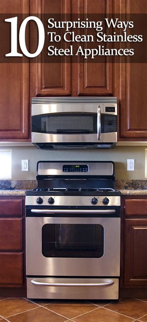 how to polish stainless steel 10 surprising ways to clean stainless steel appliances