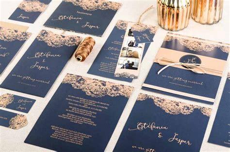 Hochzeitseinladung Kupfer by Hochzeitseinladung Kupfer Ein Sch 246 Nes Und