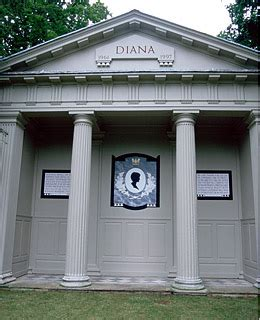 princess diana s grave blockedbuster celebrity grave sites