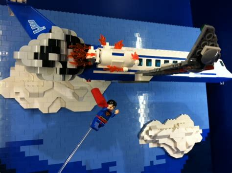 Garden State Plaza Lego Store Superman I Lug Ny