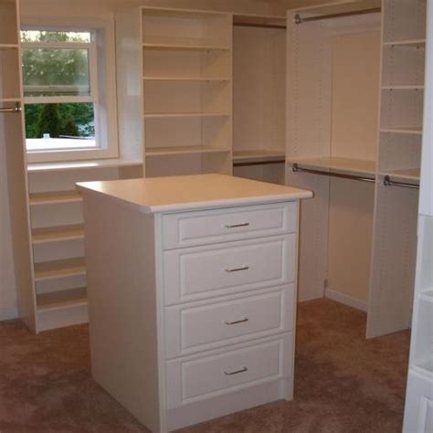 White Closet Dresser by Walk In Closet Island Dresser New Home