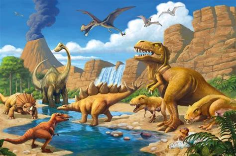 dinosaur wall mural dinosaur photo wallpaper dinosaur mural dinosaur wall decoration new ebay