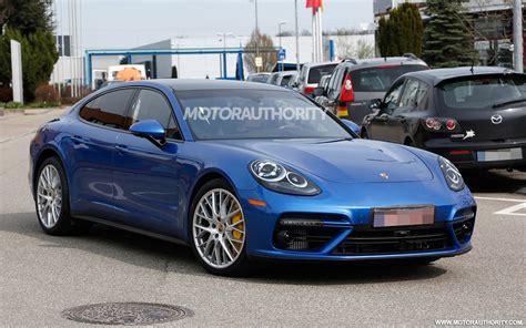 Porsche Panamera New by First Details On New Porsche V 8 Debuting In Next Gen