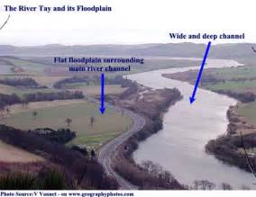 What Are Floodplans Landforms Of The Middle Reaches