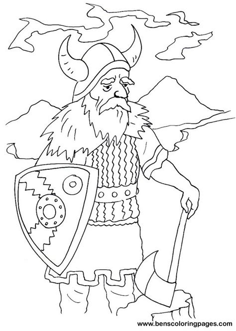 free coloring pages of viking helmet