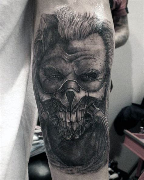 mad max tattoo scary mad max golfian
