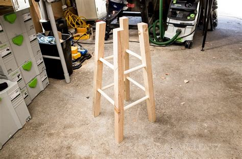 how to build wooden bar stools how to make a bar stool diy day 3 mr lentz leather goods