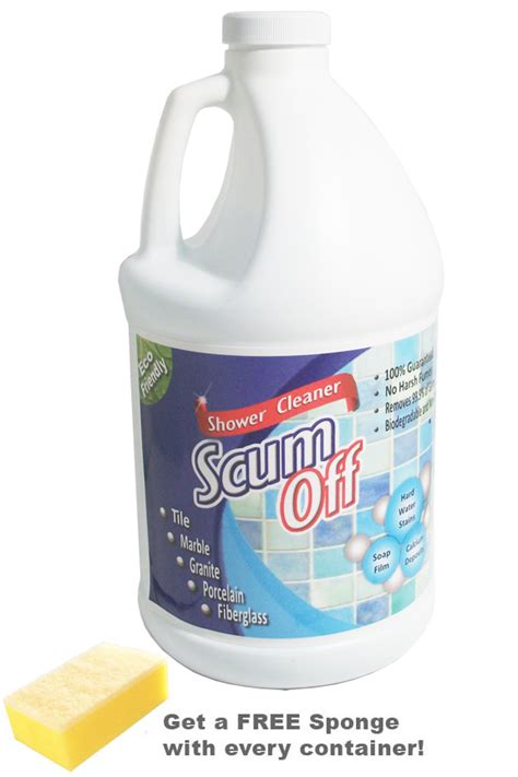 Best Bathroom Tub Cleaner by 64 Oz Scum An All Tub And Tile Cleaner
