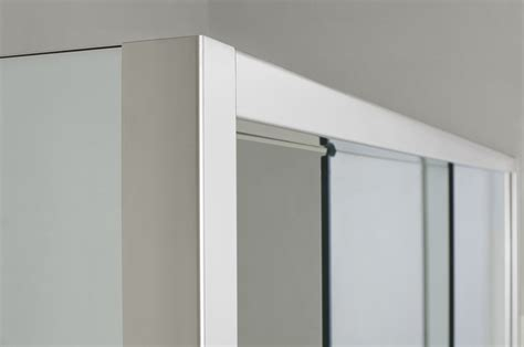 parete doccia scorrevole parete doccia di cristallo con 2 lati fissi e porta