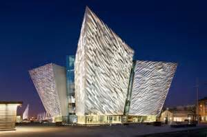 great architects shimmering titanic belfast museum celebrates the famous