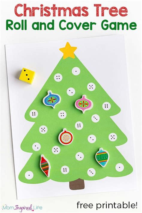 christmas tree numbers activity