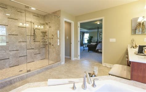 model home master bathroom in md traditional bathroom dc metro by architectural ceramics inc