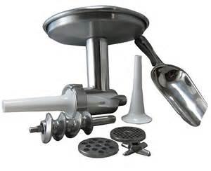 kitchenaid stand mixer all metal grinder food grinder