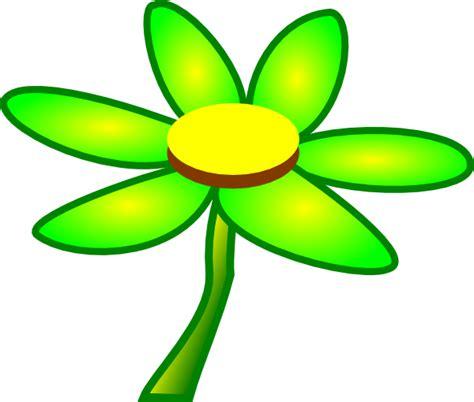 fiore clipart green flower clip at clker vector clip