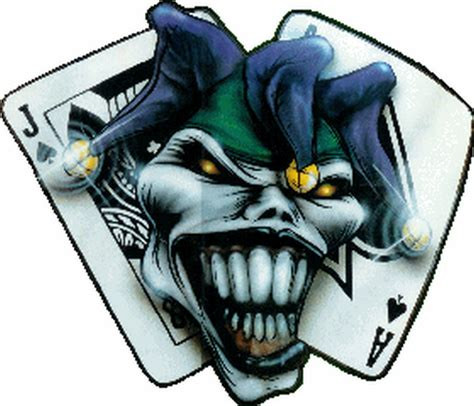 joker card tattoo designs the joker clown n cards design tattoos book