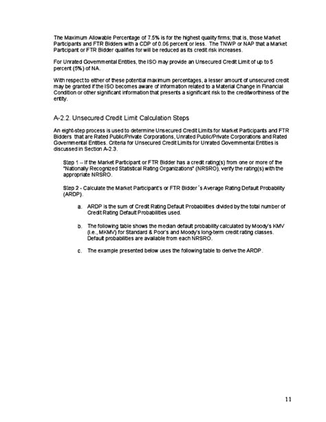 Credit Procedures Templates Credit Policy Procedures Guide Free