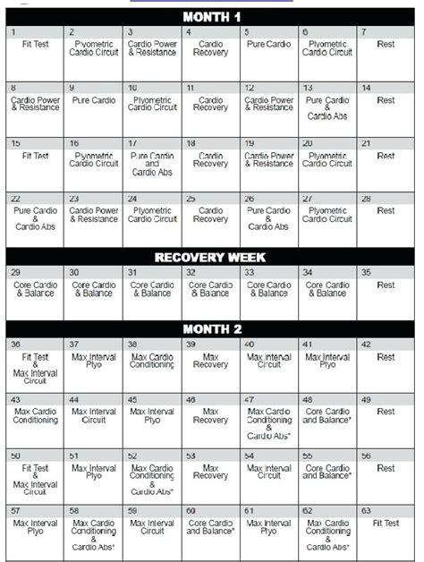 printable version of insanity workout calendar insanity workout calendar fit test blog dandk