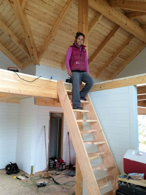 crafty diy loft or cabin stairs thanks to knockoffwood you can make these stairs for yourself