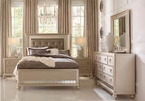sofia vergara chagne 5 pc bedroom bedroom